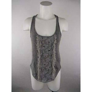 Hollister Cotton Polyester Floral Lace Tank Top